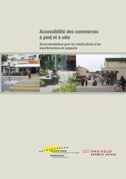 Accessibilité des commerces à pied et à vélo