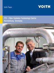 FTC - Fiber Systems Technology Center Ravensburg, Germany - Voith