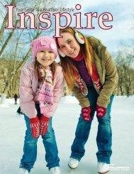 Inspire Magazine - Columbia Athletic Clubs