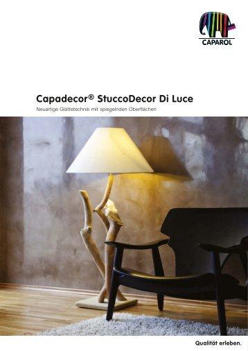 Capadecor® StuccoDecor Di Luce - Caparol