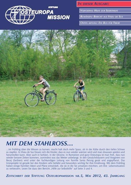 mit dem stahlRoss… - Osteuropamission Schweiz