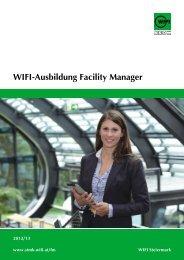 WIFI-Ausbildung Facility Manager - WIFI Steiermark