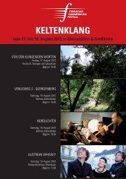 keltenklAng - Soroptimist Club Goldes
