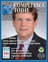 Paul J. McNulty Partner, Baker & McKenzie, LLP, former Deputy ...
