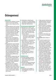 Osteoporoosi - Terveyskirjasto