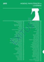 HIGIENE, MANUTENÇÃO e CATERING 2013 - Exitus