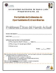 Tercera y Quinta Oportunidad PEMA - Preparatoria 22