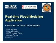Real-time Flood Modeling Application - USEHAZUS