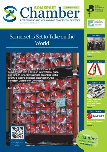 September edition of the Somerset Chamber magazine
