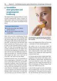 3 Grundsätze einer gesunden und ausgewogenen Ernährung