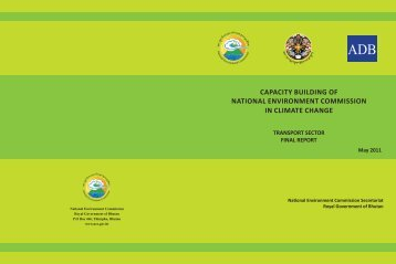 Transport Sector Final Report - National Environment Commission