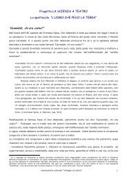 L'UOMO CHE PESO' LA TERRA - xlatangente