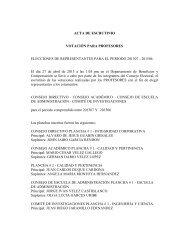 ACTA DE ESCRUTINIO VOTACIÓN PARA PROFESORES ...
