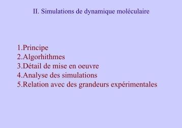 1.Principe 2.Algorhithmes 3.Détail de mise en oeuvre 4 ... - LISM