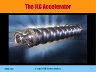 The ILC Accelerator - Desy