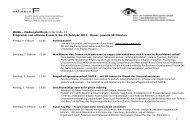 1 MUBA – Medienplattform in der Halle 2.1 Programm von alliance F ...