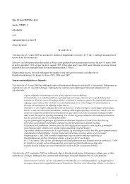 Den 14. juni 2010 blev der i sag nr. 9/2009 - S ... - Revisornævnet