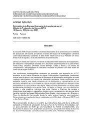 Crucero 0908-09 Estimación de la Biomasa Desovante de ... - Imarpe