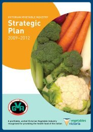 The Plan - Vegetable Growers Association of Victoria
