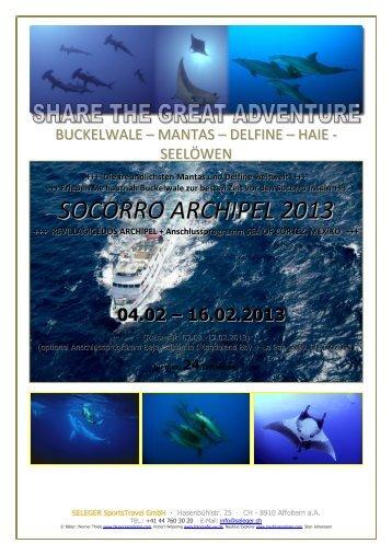 SOCORRO ARCHIPEL 2013 - SELEGER SportsTravel