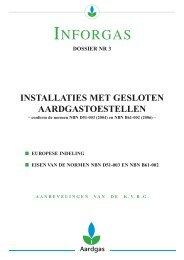 Brochure inforgas 3 Installaties met gesloten toestellen - GoLanTec