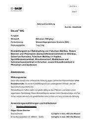 Kontaktfungizid zur Bekämpfung von Falschem Mehltau, Rotem ...