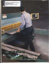 Wysong and Miles CNC Shear Brochure - Sterling Machinery
