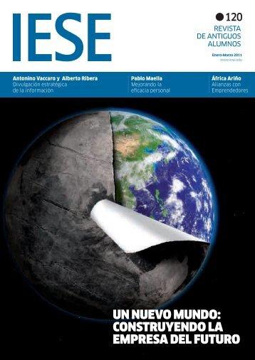 un nuevo mundo: construyendo la empresa del futuro - revista iese.