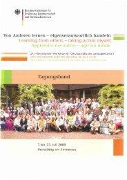 Tagungsband - 26. Internationales Seminar für Führungskräfte der ...