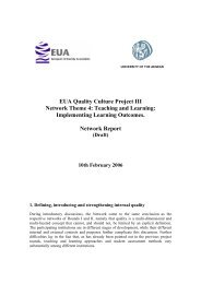 Implementing Learning Outcomes. Network Report