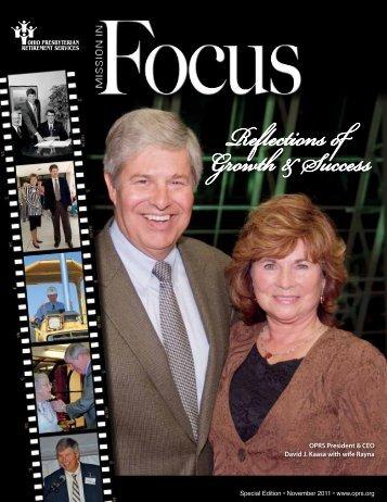 Special Edition: Dave Kaasa - Ohio Presbyterian Retirement Services