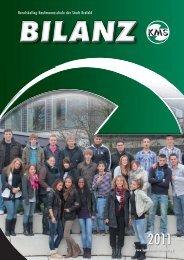 Bilanz 2011 - Berufskolleg Kaufmannsschule der Stadt Krefeld