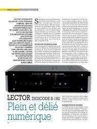LECTOR DIGICODE S-192 - Lector-audio.com