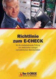 E E-CHECK Richtlinien 1005 - E+SERVICE+CHECK GmbH