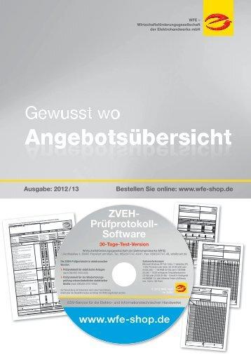 ZVEH- Prüfprotokoll- Software - Kalkulationshilfe