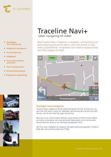 Läs mer om Traceline Navi+ här - TC Connect