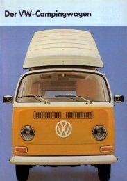 Volkswagen, Februar 1971,