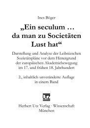 und Einleitung (216 KB) - Herbert Utz Verlag GmbH