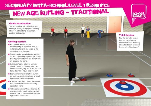new age kurling - traditional - School Games