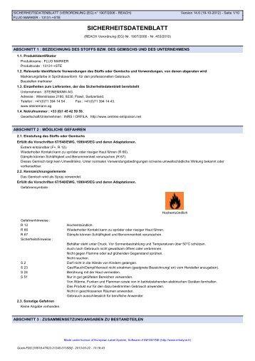 fluo marker - Steinemann AG