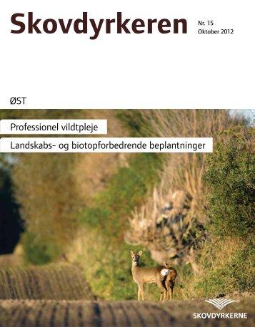 ØST Professionel vildtpleje Landskabs- og biotopforbedrende ...