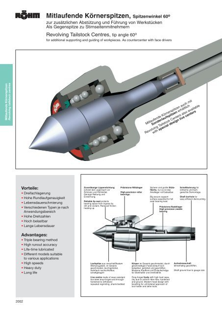 105 mm lang Körner mit Hartmetalleinsatz