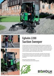 Suction Sweeper - Euromec.co.uk