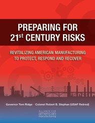 Preparing for 21st Century Risks: Revitalizing American ...