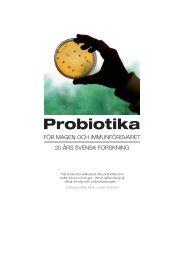 Probiotika - Scientific Communication AB