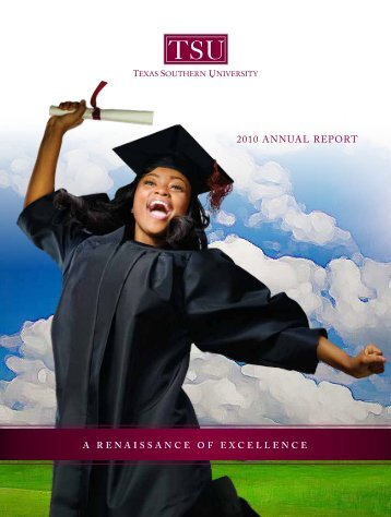 2010 annual report - Texas Southern University