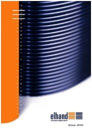 Технический каталог продукции Elhand