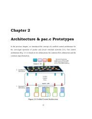 Chapter 2 Architecture & pac.c Prototypes - High Performance ...