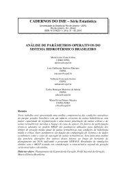 análise de parâmetros operativos do sistema ... - CTC - Uerj
