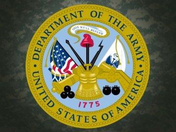 Führungsausbildung der Uof in der U.S. Army - Unteroffiziersverein ...